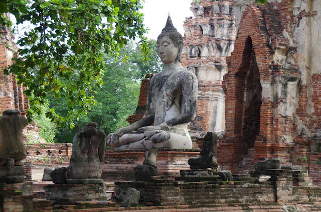 Blog de voyage-en-famille : Voyages en famille, Sukhothai - Ayutthaya