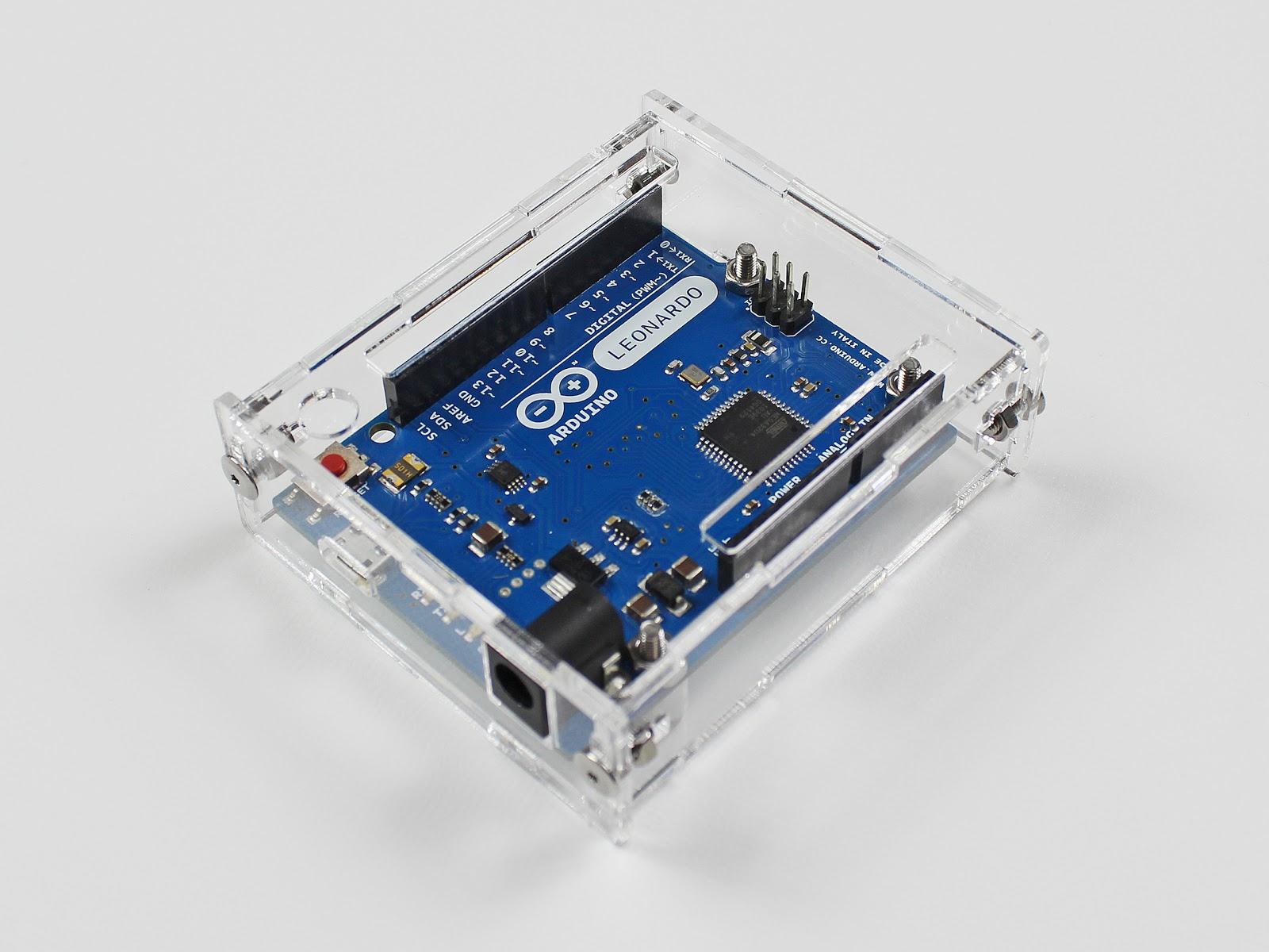 Arduino Leonardoケースのレーザーカット