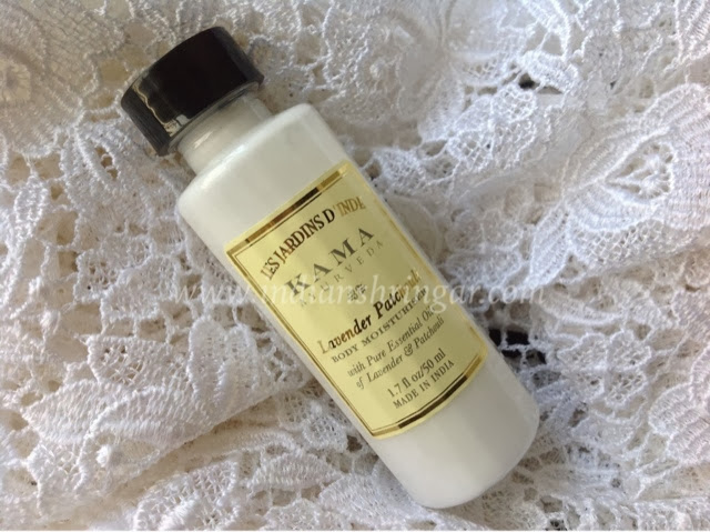 Kama Ayurveda Lavender lotion in November Vellvette Bag