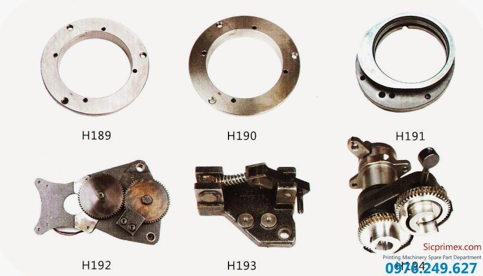 Bán linh kiện máy in Hải Đức Bảo nhập khẩu chính hãng giá rẻ H189-194