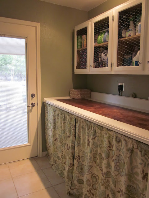 after laundry room renovation
