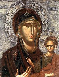 ICONS, Byzantine Hodigitria 1200s