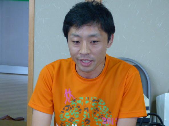 ケアハウスハーモニーコート施設長上野光彦氏