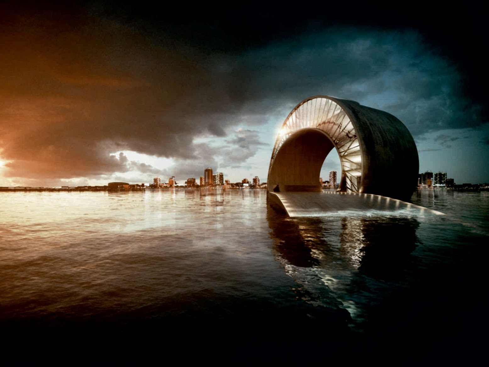 St. Petersburg, Florida, Stati Uniti d'America: [ST. PETERSBURG PIER BY BIG + MESH ARCHITECTURE]
