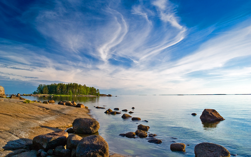 coast of finland wallpaper