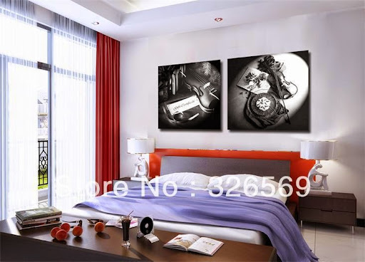 book flower wall art for bar decoration Canvas Prints C