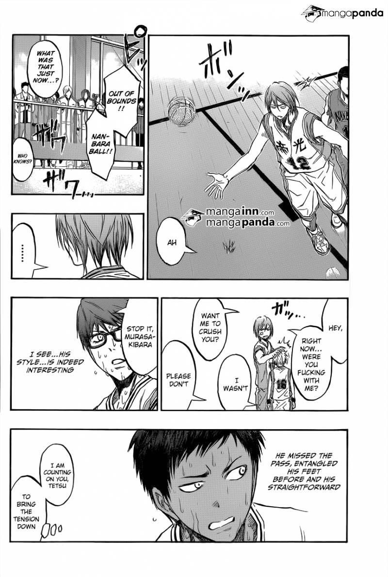 Kuroko no Basket Manga Chapter 208 - Image 16