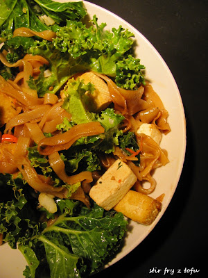 Stir fry z tofu