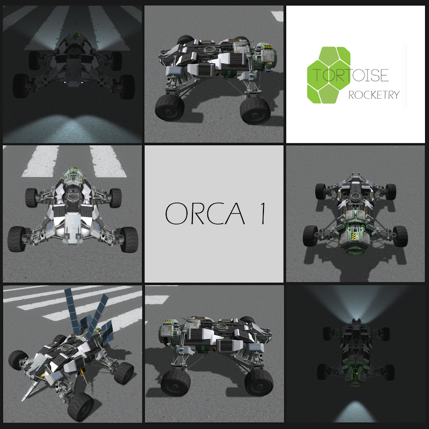 ORP rovers (Orca rover program)