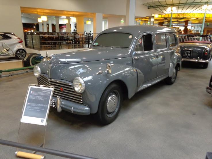Musée de l'aventure Peugeot à Sochaux DSC01315
