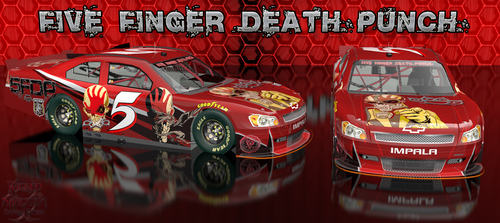 Wallpapers By Wicked Shadows: Five Finger Death Punch Wicked Chevy ...