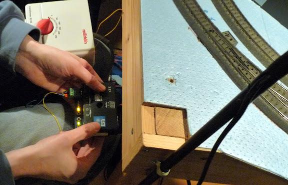Afregelen servo op ESU SwitchPilot servo