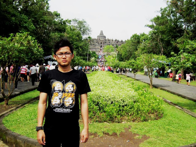 ADVENTURE TIME : BOROBUDUR TEMPLE