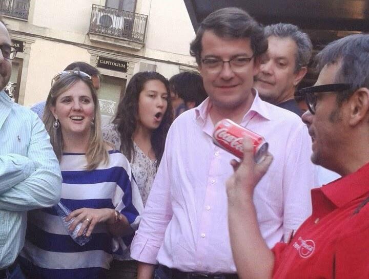 coca-cola magia Alfonso V mago madrid alcalde salamanca