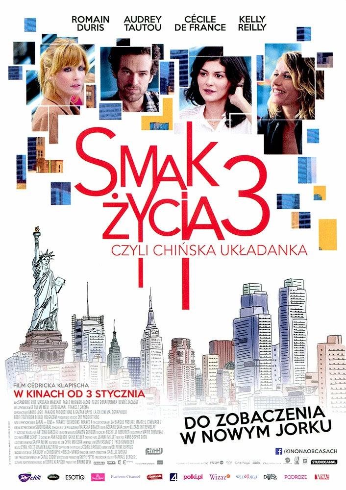 Ulotka filmu 'Smak Życia 3, Czyli Chińska Ukladanka (przód)'