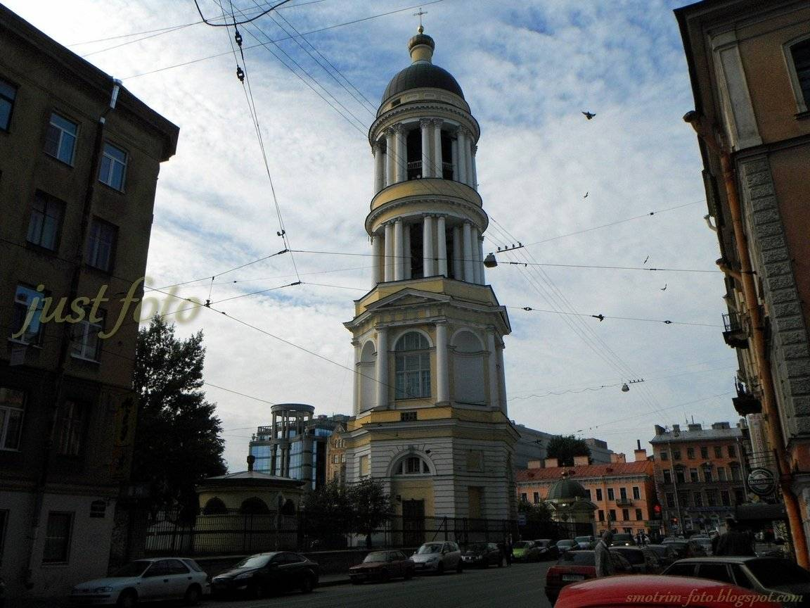 Владимирский Собор колокольня Кваренги Санкт-Петербург фото