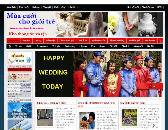 Dự án thiết kế website doanh nghiệp 06
