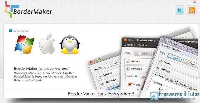 BorderMaker : un logiciel gratuit pour ajouter des cadres personnalisés à vos photos