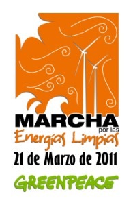 marcha por las energias limpias greenpeace