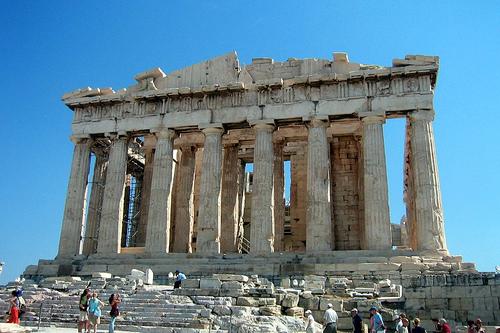 Parthenon, Athena Yunani