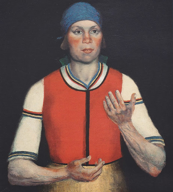 Kazimir Malevich - A Working Woman
