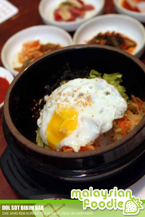 Mixed Fried Vegetables With Rice In Stone Pot Dol Sot Bibim Bab Is A Must In Korean Cuisine Is A Signature Korean Dish The Rice Is Being Served And