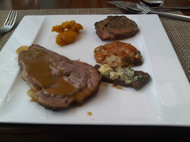 Lemon Chicken, Stuffed Beef, Cod, Beef w/ Cheese, Roast Beef
