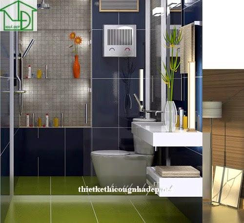 Thiết kế nội thất phòng tắm số 2