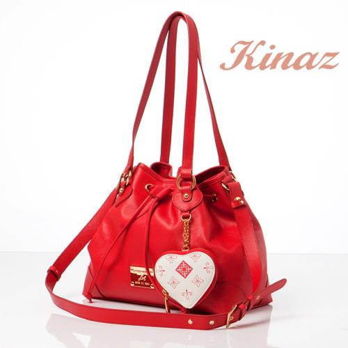 KINAZ L'amour最愛系列 大人氣攀升多way包-戀人紅