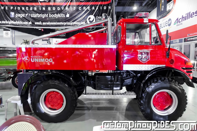 Mercedes-Benz UNIMOG The Ultimate 4x4 Custom Pinoy Rides Car Photography Manila Philippines pic6