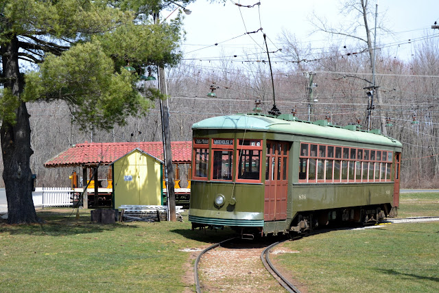 Коннектикутский музей транспорта (Connecticut Trolley Museum, East Windsor, CT)