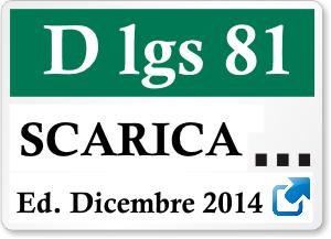d lgs  81