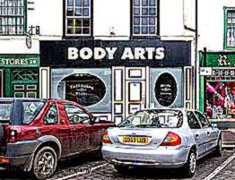 Body Arts   Tattooing amp Piercing in Town Centre Doncaster Market