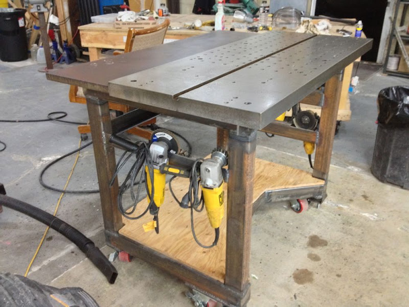 Fabrication Fixturing Welding Table Build