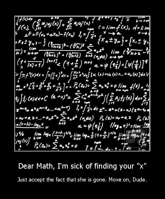Dear Math