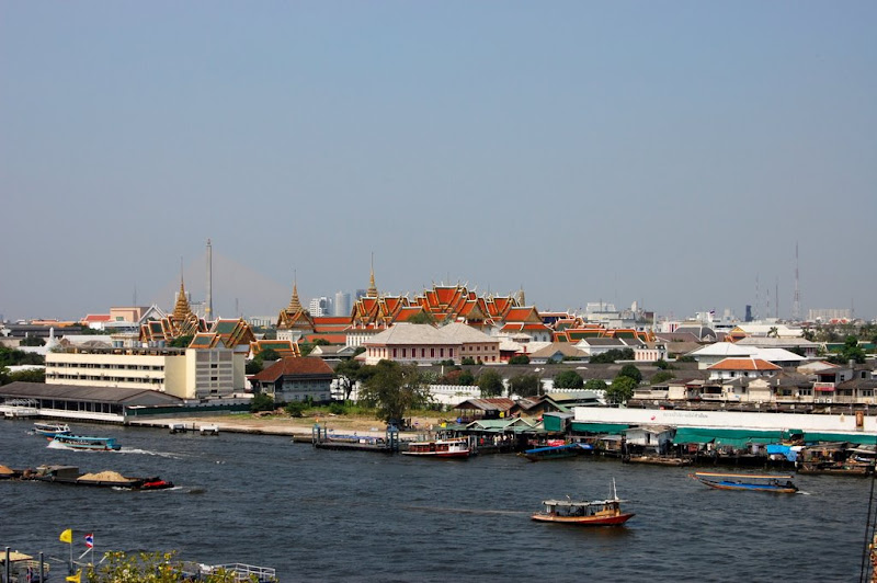 Chao Praya from Wat Arun