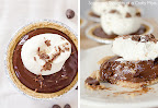 Almond Milk Chocolate Pudding Pies