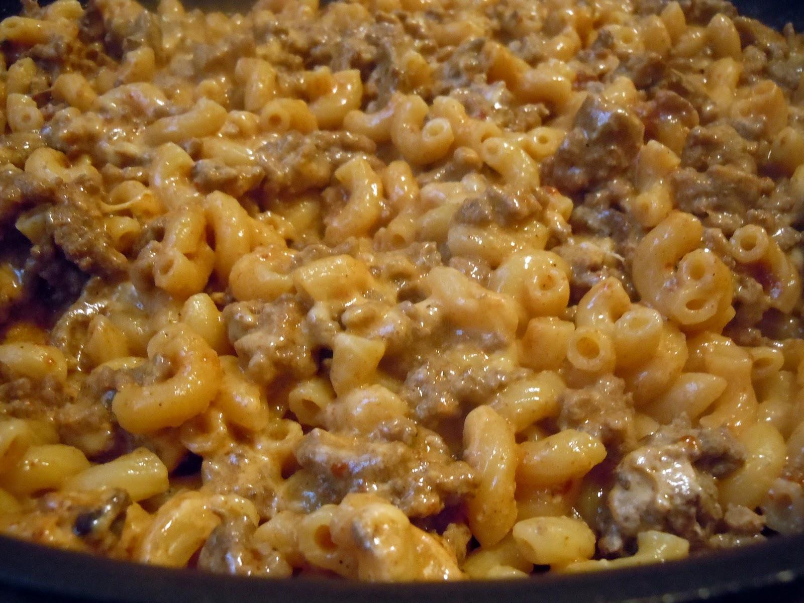 Macaroni Cheese The Savvy Kitchen Homemade Hamburger Helper