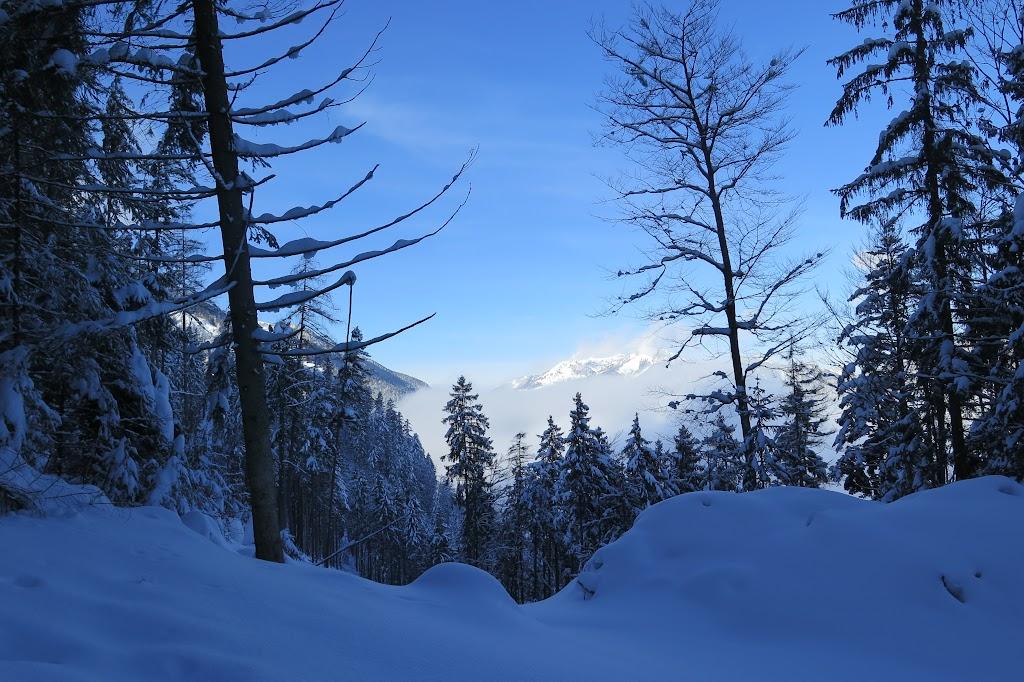 Ich kam in den Genuss einer traumhaften Winterlandschaft