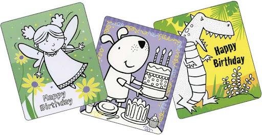 Birthday Cards To Color. 20 Birthday Cards to Color