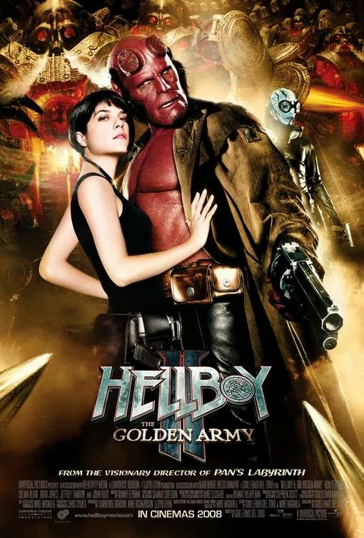 Poster Of Hellboy II: The Golden Army (2008) Full Movie Hindi Dubbed Free Download Watch Online At Alldownloads4u.Com