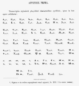 Глаголическая надпись в Кафедральном соборе в Загребе