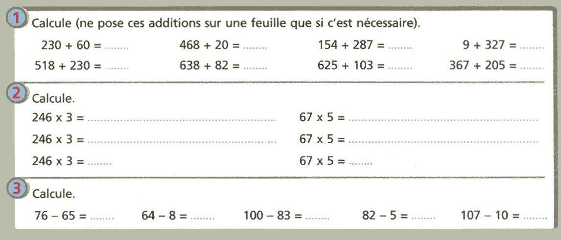 la classe de mme c evaluations 3 232 me p 233 riode