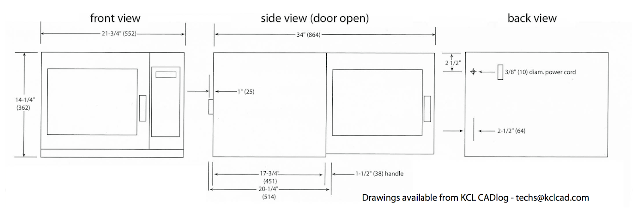 Microwave Cabinet Size Bestmicrowave