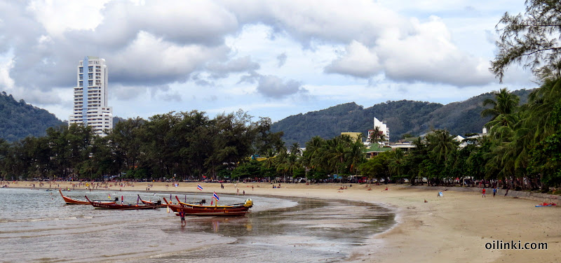 Patong beach low season 2014