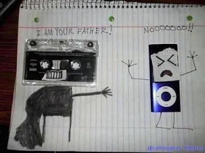 Luke, I am your father! Star Wars parody