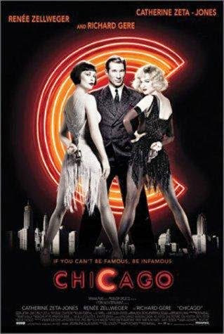 Poster Of English Movie Chicago (2002) Free Download Full New Hollywood Movie Watch Online At Alldownloads4u.Com