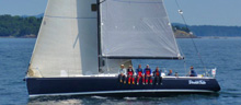 J/145 sailing Vic-Maui race