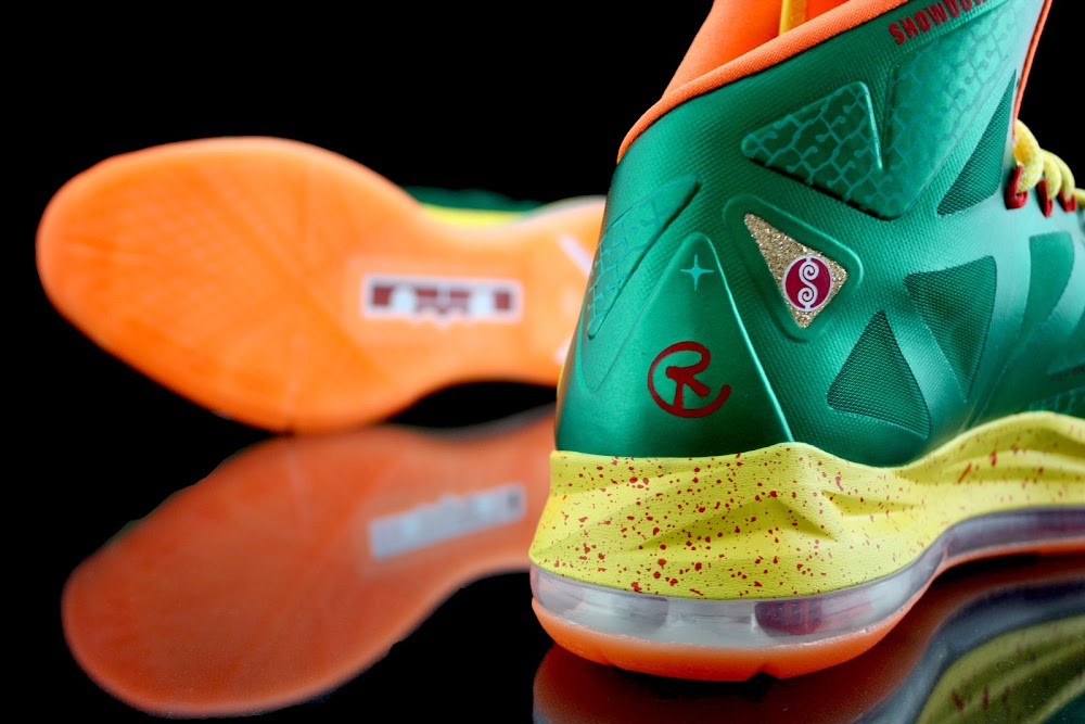 d29944aa262 Nike LeBron X 8220Price Is Right8221 by Revive Customs ...