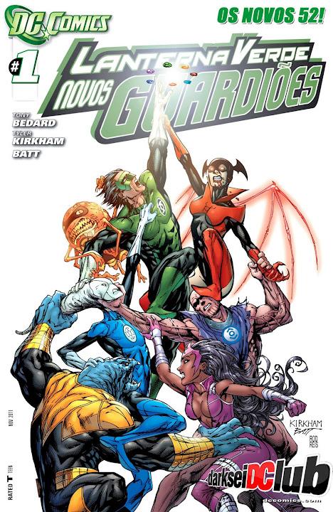 Lanterna Verde – Novos Guardiões (Os Novos 52)